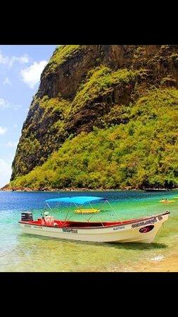 Soufriere Quarter, St. Lucia: Come cruise along and explore Saint Through ocean Angel Boat Tours