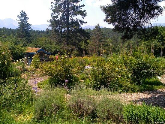 Mens, France: Un des jardins du Centre, le potager familial
