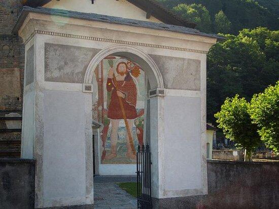 Malvaglia - Chiesa di san Martino (Serravalle - Val Blenio)