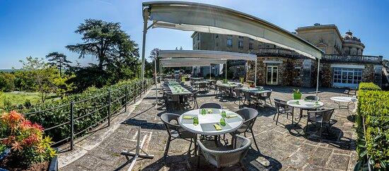 terrasse panoramique restaurant Albatros proche Dourdan et Rambouillet