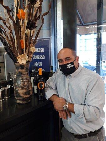 Gamberi alla catalana, risotto alla trevisana con taleggio fritto fegato alla veneta Eccezionale
