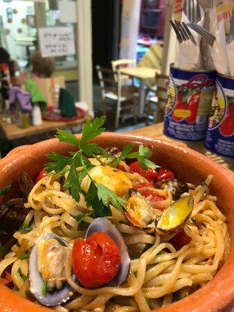 Sea Food , Vongole Veraci , tomatoes