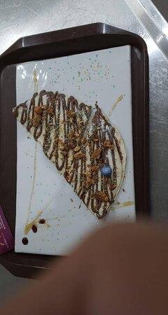 La Forchetta d'Oro: Piadina romagnola sucré avec nutella
