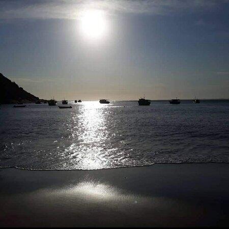 Barra de Guaratiba, RJ: Por do sol
