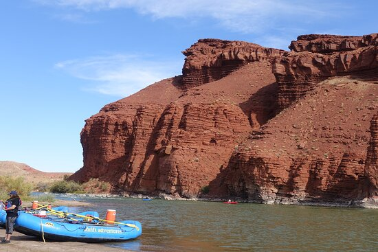 Colorado River Rafting: Half-Day Morning at Fisher Towers: LUnch stop