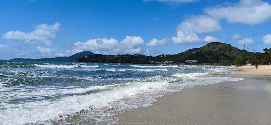 Praia deliciosa.