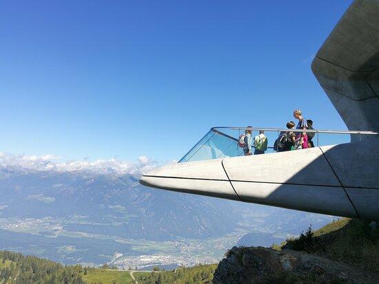 Pieve di Marebbe, Italy: Terrazza panoramica del museo