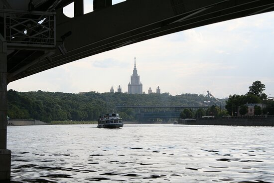 Luzhniki Bridge: :)