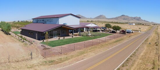 Flying Leap's winery estate is located along winery row in the Sonoita/Elgin wine region. We have ample parking, beautiful landscaping, including rose gardens, shaded patios and picnicking accommodations. Photo Credit: Thomas Ale Johnson.