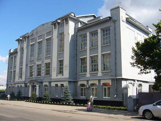 Usman, Ρωσία: Здание бывшего реального училища, ныне педагогический колледж г. Усмани