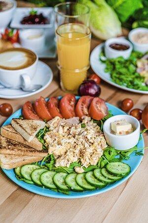 Pulawy, Lengyelország: Zapraszamy na pyszne śniadania!
