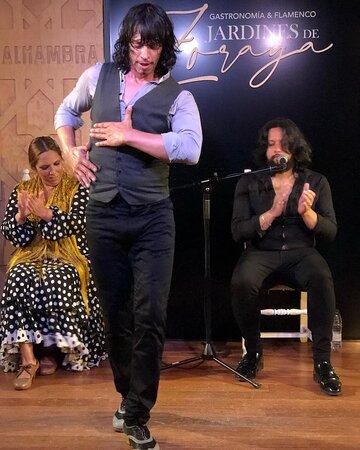 Luis de Luis al baile, Antonio Gómez el Turry al cante