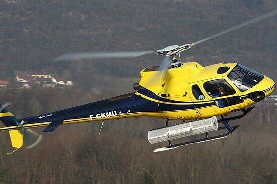 Excursion en hélicoptère à la Côte...