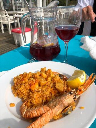 Best Paella de Mariscos on the coast