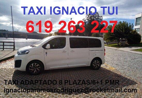Tui, Espanha: Taxi Adaptado 8 plazas/6+1 pmr