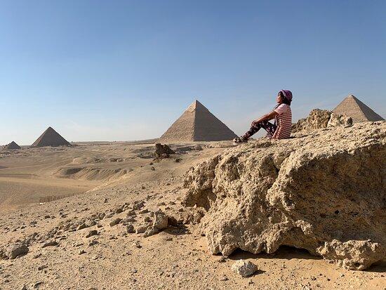 תמונה מTour to Giza Pyramids and Egyptian Museum and Citadel and Khan elkhalili