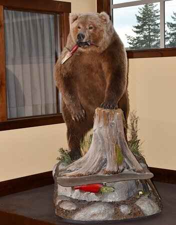 Bear in the Viking Building