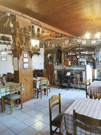 Καρυόφυτο, Ελλάδα: Εσωτερικός Χώρος.