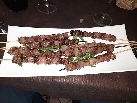 Trattoria Dal Pagano: Arrosticini da 45 gr.