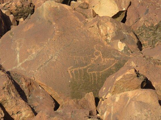 Loiyangalani, קניה: Rock Art 1