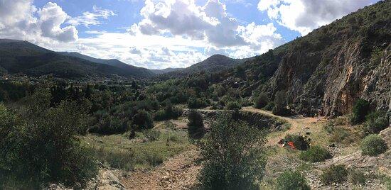 The amazing crags around Camaiore
