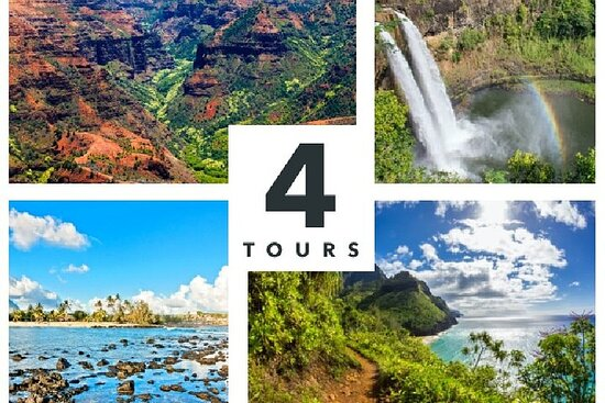 Kauai Tour Bundle: Få 4 Kauai Audio Tours