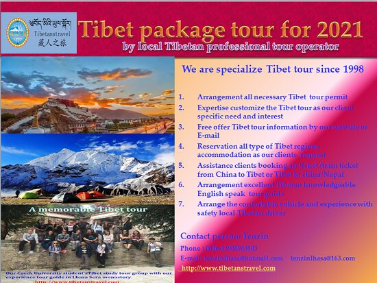 our expertise and high quality service will bring you a memory Tibet tour in 2021
