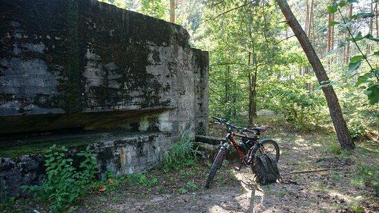 Közép-Lengyelország, Lengyelország: Lager Kruszyna - bunkier dowodzenia B10
