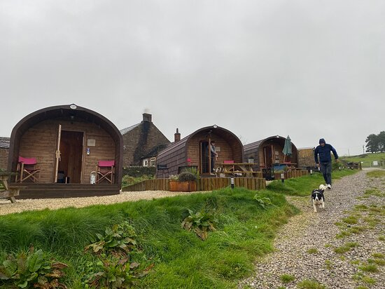 Wincle, UK: Cabins