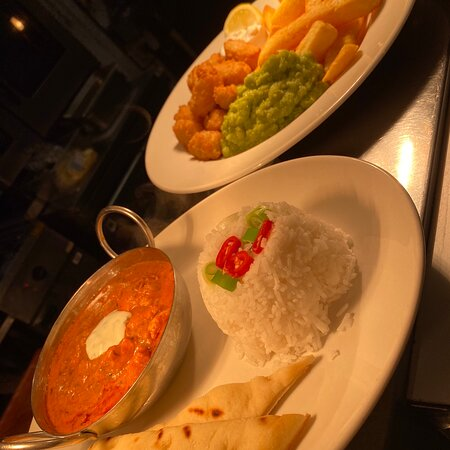 Our specials menu available for a limited time only! Available from 12-6. The curry is our fave😍🤤