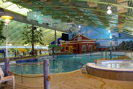 Invercargill, New Zealand: Leisure Pool, features waves and sprays at certain times.