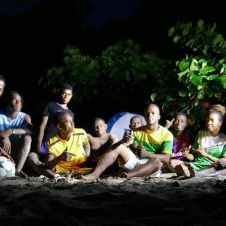 Anjouan, Komory: Une nuit sur une plage ça donne vraiment de l'ambiance