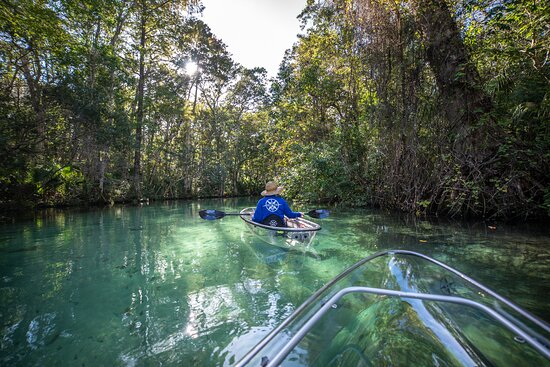 Get Up And Go Kayaking - Weeki Wachee