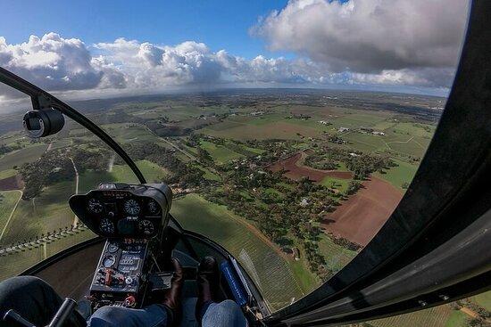 Southern Barossa & Tanunda: 20-minütiger Helikopterflug