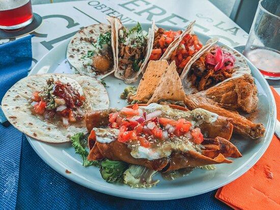 Colombres, Španělsko: Tacos variados