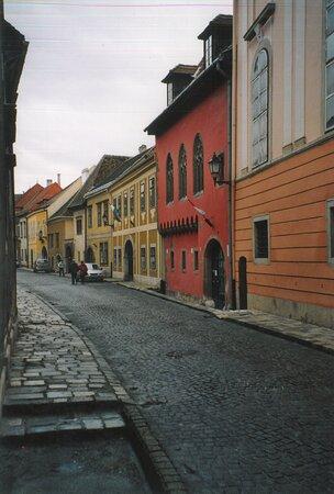 ฮังการี: Mie foto cartacee di viaggi che ho fatto nel corso degli anni - Sopron : verso il centro ...