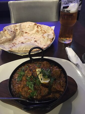 Great food and great staff, lamb chop starter and lamb Karachi, would highly recommend this dish, spot on, Thanks