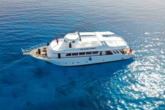 Sahl Hasheesh, Egypten: pro divers boat