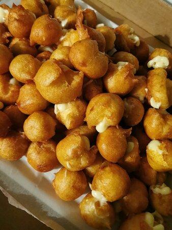 Fuentes de Onoro, Spain: Buñuelos de la Panadería de Gabriel Vicente e Hijos