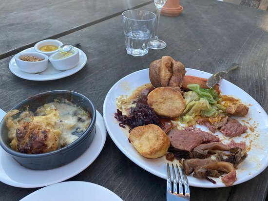 Rosudgeon, UK: Sunday Roast!