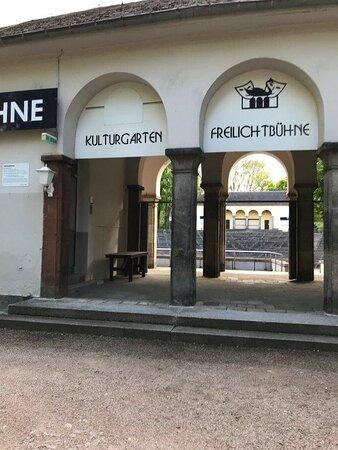 Pódium Freilichtbuehne Zwickau