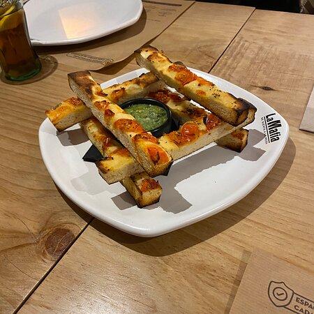 Lovely Italian food in Salamanca