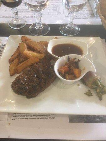 Labouheyre, France : Excellents plats  et surtout service agréable
