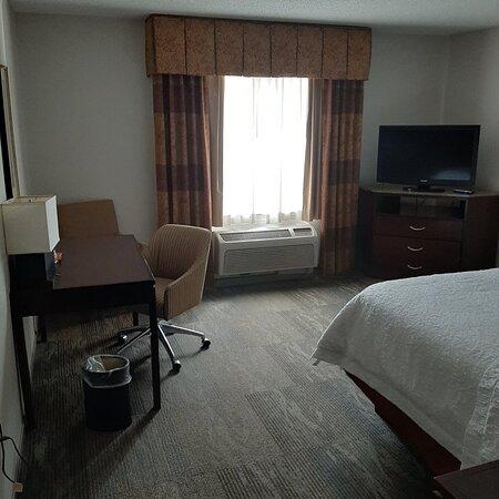 Clean room - no breakfast