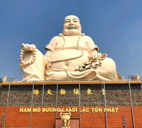 Giant Buddha at Vinh Trang Temple