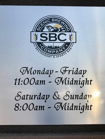 Brewery hours