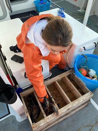 Hono, Suède : fishing