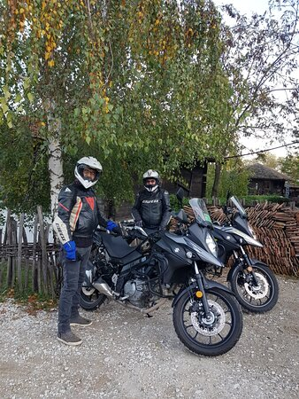 A day on a motorcycle with a great prson..