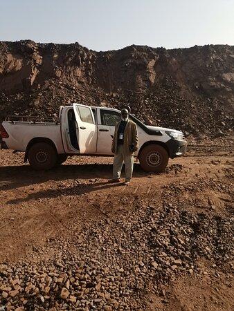 Zouerat, Mauritania: زيارة ميدانية للمعدات