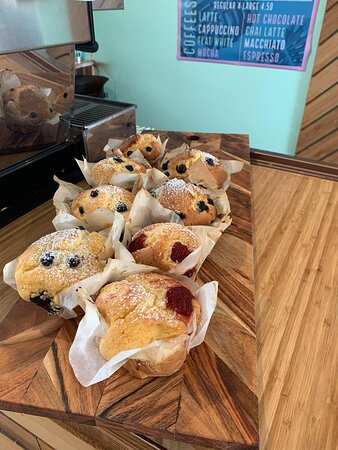 Different cakes available daily.
